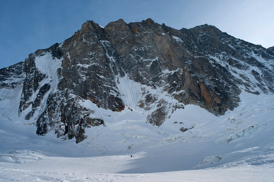 Grandes Jorasses north face.